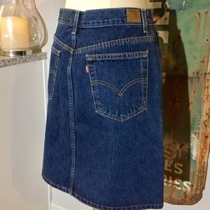 Temporary SALE❗️ Levi's Red Tab Jean Skirt Size 8